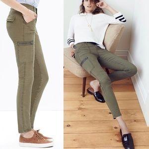 Madewell Skinny Fatigue Pants sz 29
